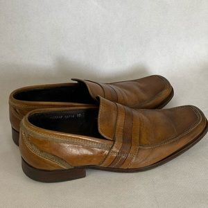 Kenneth Cole Reaction Shoes - Kenneth Cole men's brown loafer 10